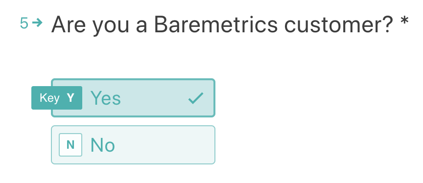 Are you a baremetrics customer