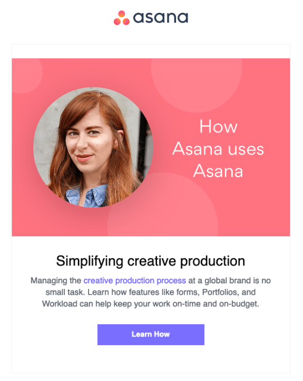 asana onboarding email