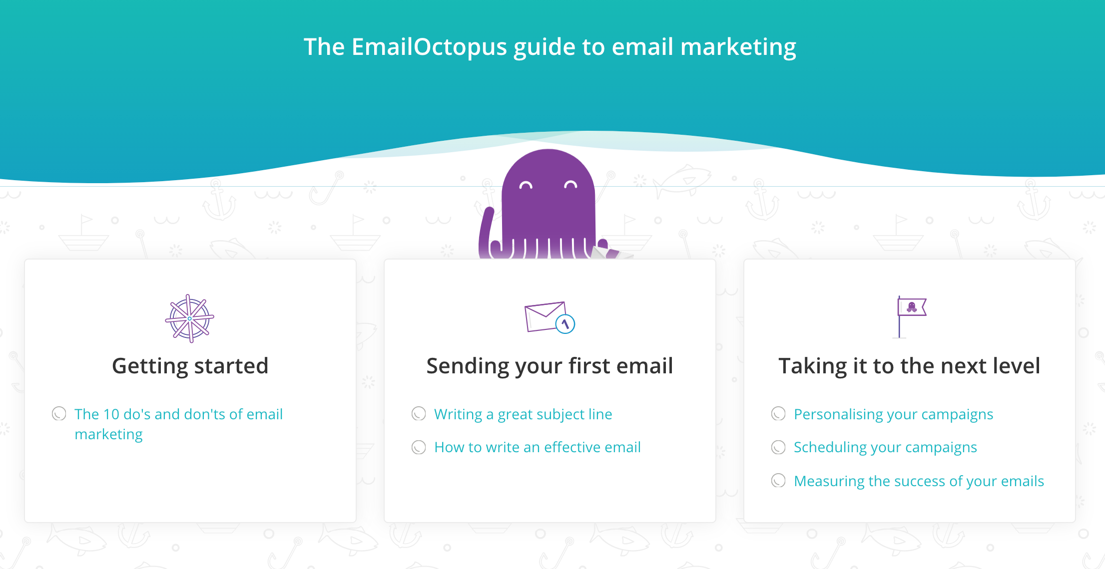 emailoctopus email marketing guide