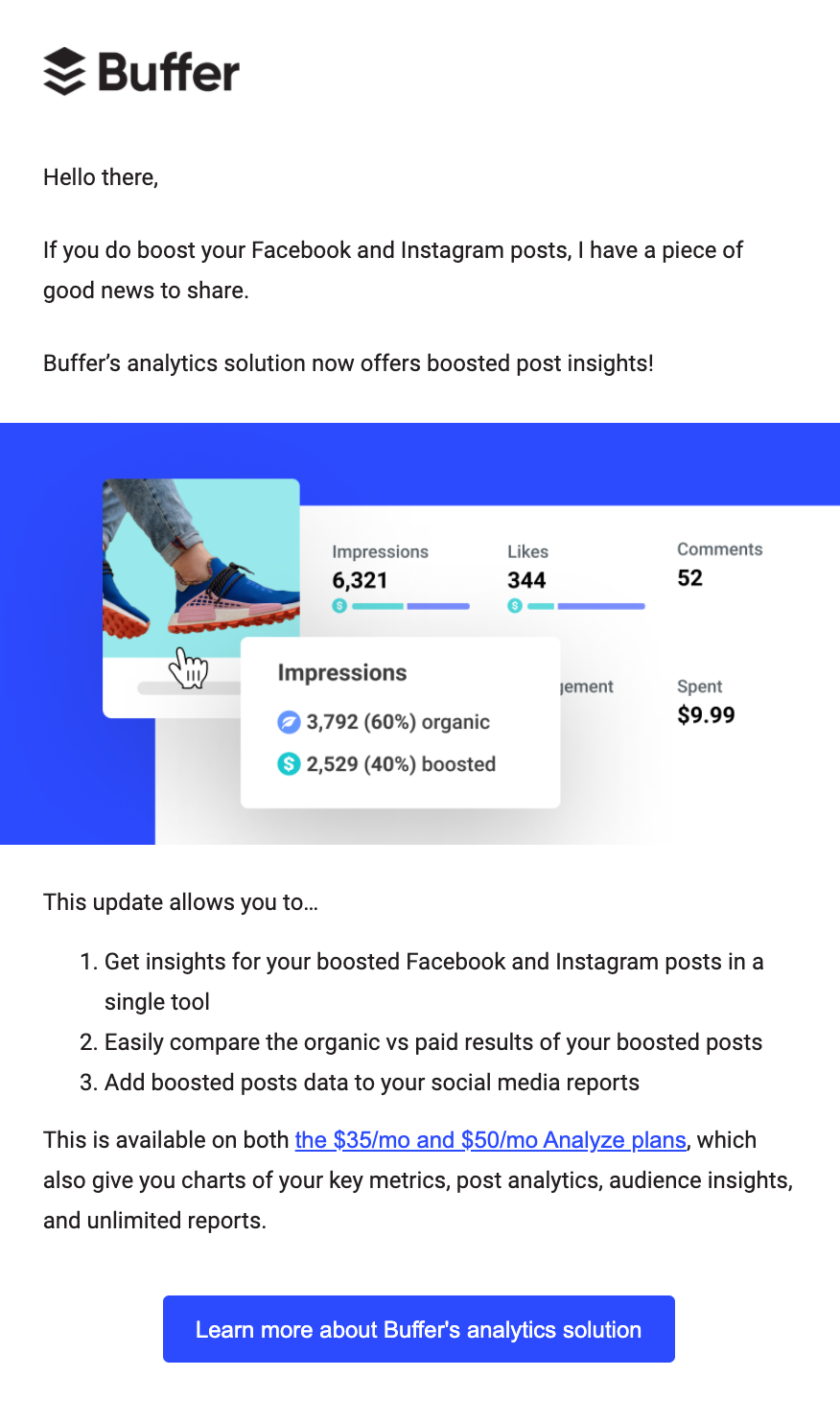 buffer customer expansion email