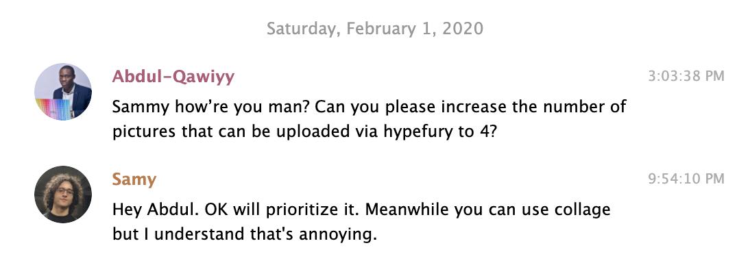 hypefury customer feedback