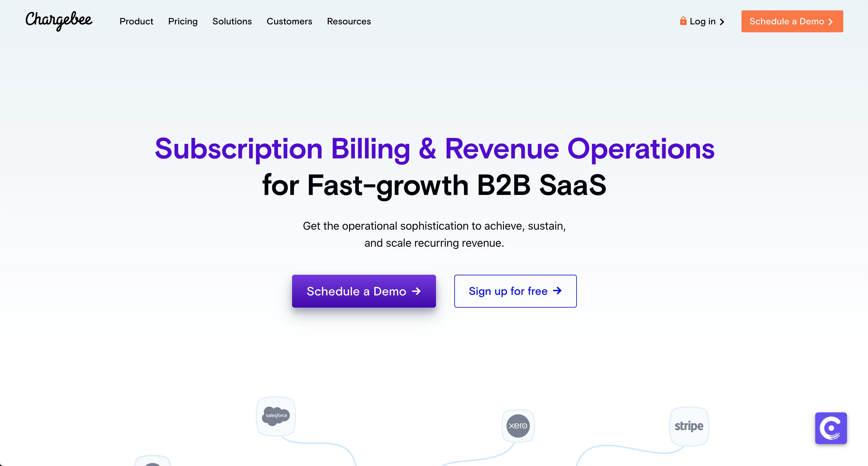 chargebee - saas billing