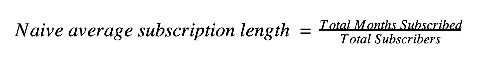 naive avg length