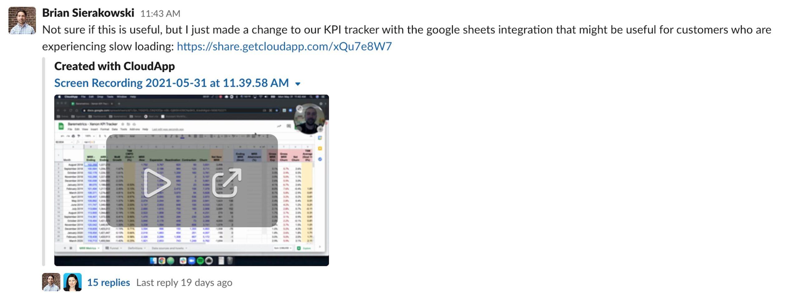 6 tips for effective data sharing using Baremetrics